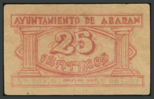 228 - Billetes Guerra Civil