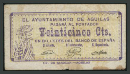 230 - Billetes Guerra Civil