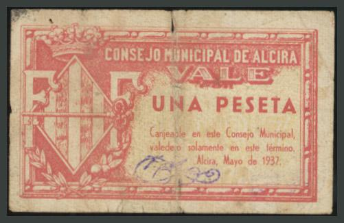 232 - Billetes Guerra Civil