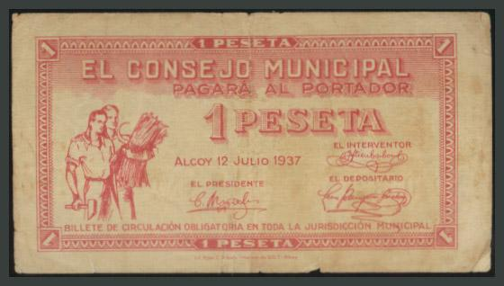 233 - Billetes Guerra Civil