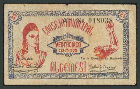 234 - Billetes Guerra Civil