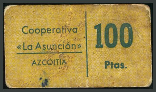 235 - Billetes Guerra Civil