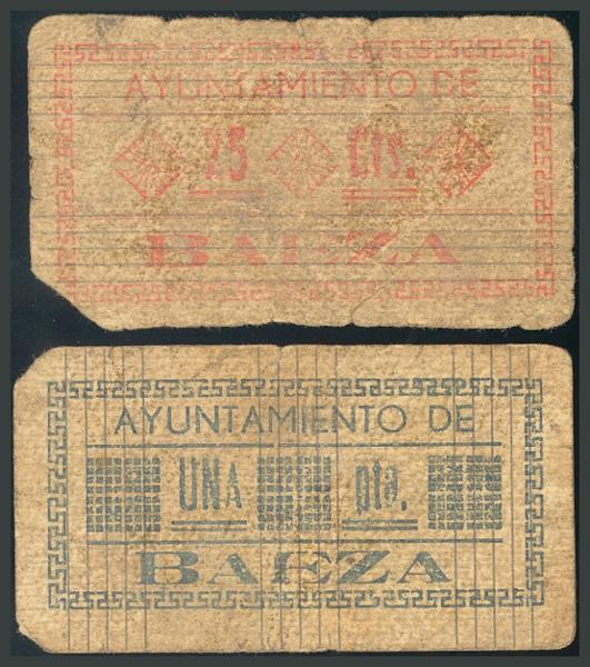 236 - Billetes Guerra Civil