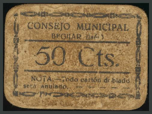 237 - Billetes Guerra Civil