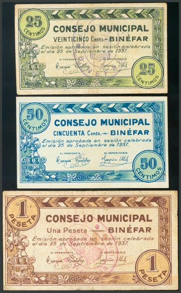 238 - Billetes Guerra Civil