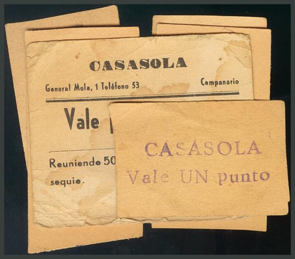 240 - Billetes Guerra Civil