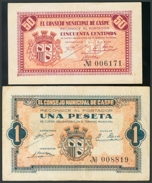 242 - Billetes Guerra Civil