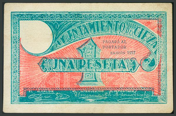244 - Billetes Guerra Civil