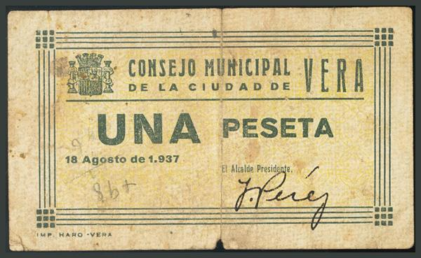 245 - Billetes Guerra Civil