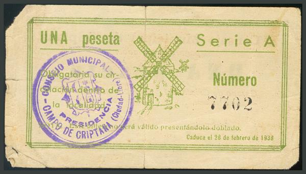 246 - Billetes Guerra Civil