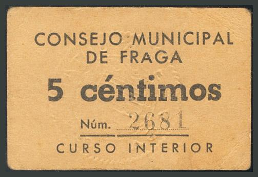 247 - Billetes Guerra Civil