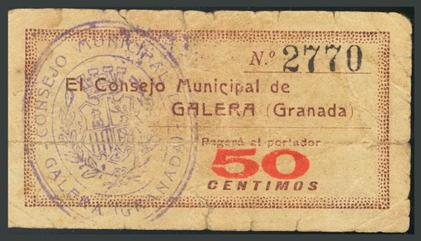249 - Billetes Guerra Civil