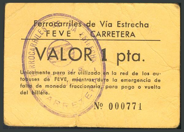 252 - Billetes Guerra Civil