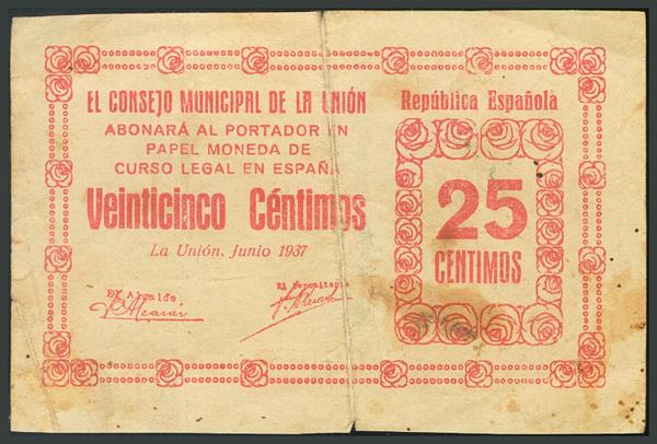 253 - Billetes Guerra Civil