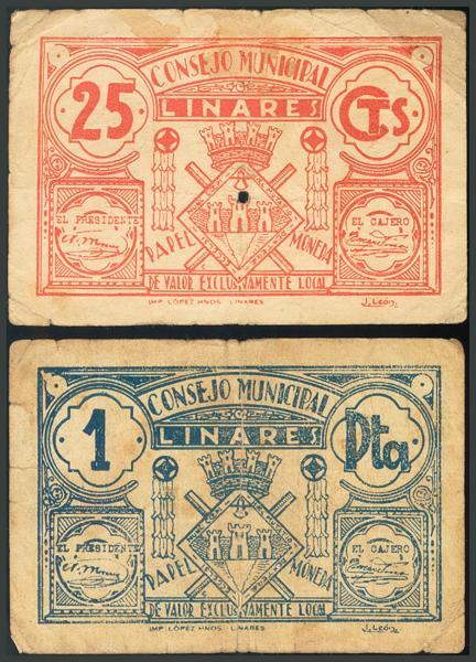 254 - Billetes Guerra Civil