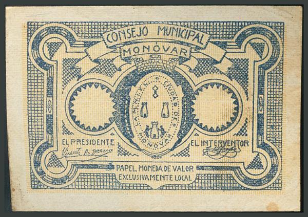 268 - Billetes Guerra Civil