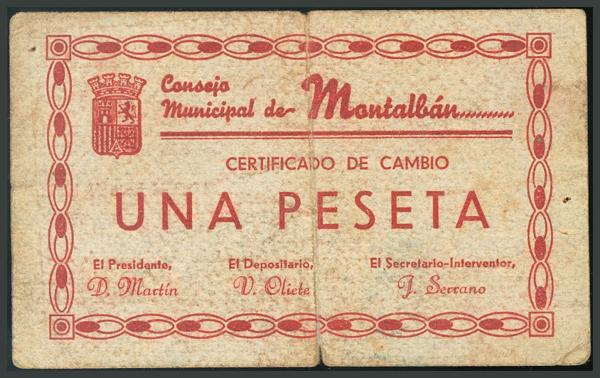 269 - Billetes Guerra Civil
