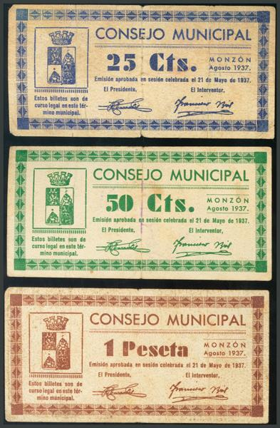 271 - Billetes Guerra Civil