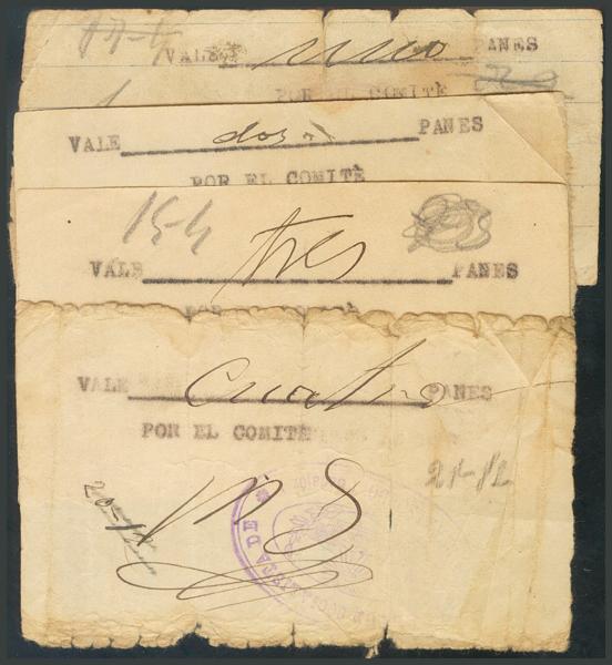274 - Billetes Guerra Civil