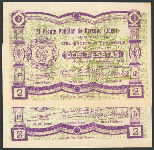 275 - Billetes Guerra Civil