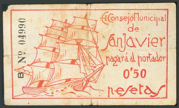 277 - Billetes Guerra Civil