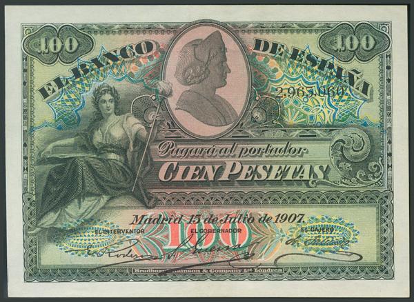 27 - Billetes Españoles