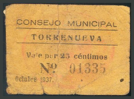 280 - Billetes Guerra Civil