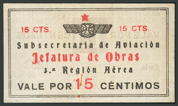 284 - Billetes Guerra Civil