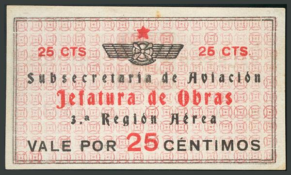 285 - Billetes Guerra Civil