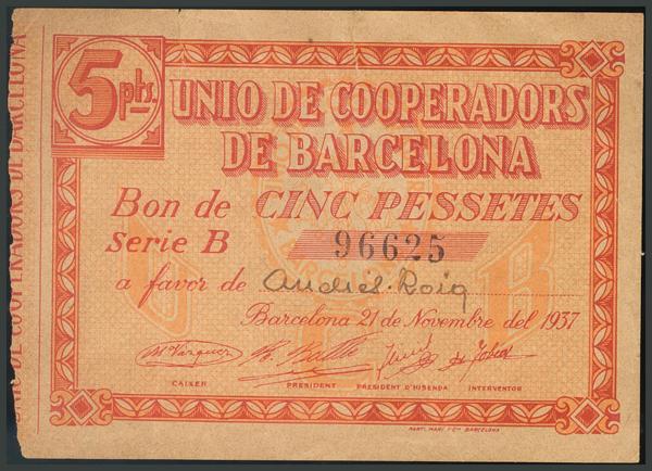 288 - Billetes Guerra Civil