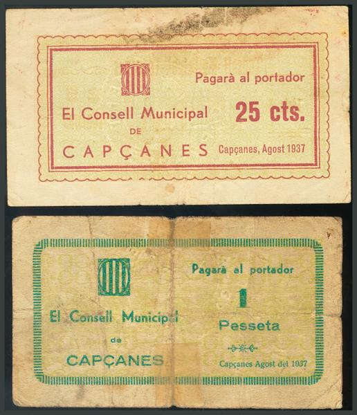290 - Billetes Guerra Civil