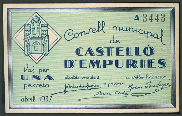 291 - Billetes Guerra Civil
