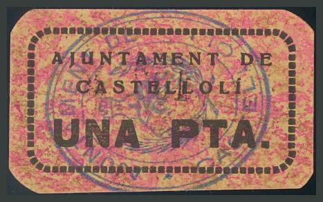 293 - Billetes Guerra Civil