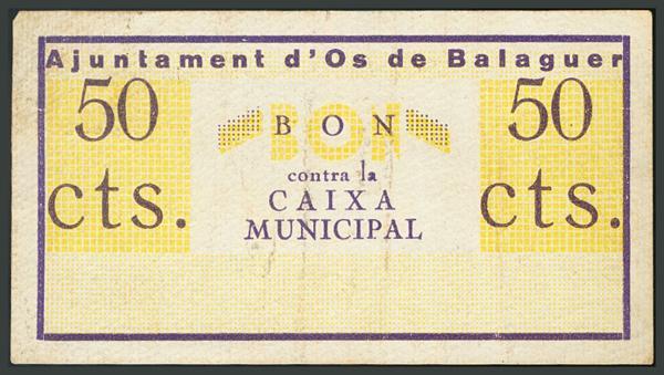 295 - Billetes Guerra Civil