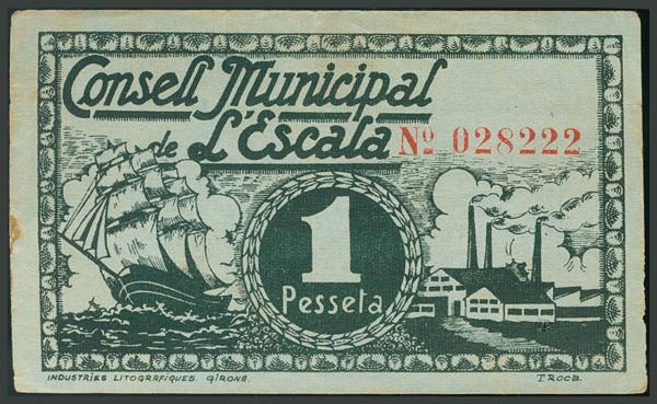 296 - Billetes Guerra Civil