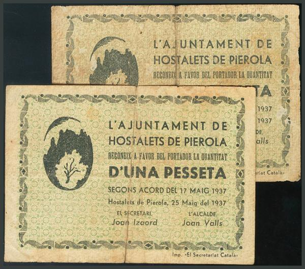298 - Billetes Guerra Civil