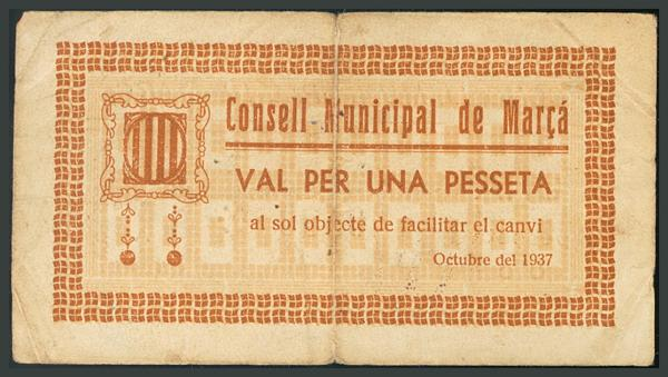 300 - Billetes Guerra Civil