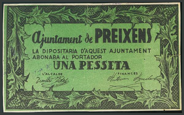 303 - Billetes Guerra Civil