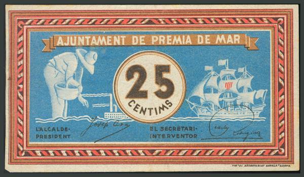 304 - Billetes Guerra Civil