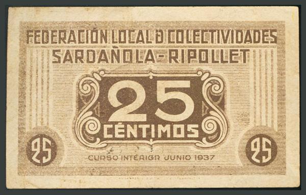 306 - Billetes Guerra Civil