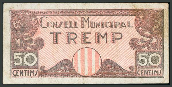 308 - Billetes Guerra Civil