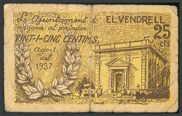 309 - Billetes Guerra Civil