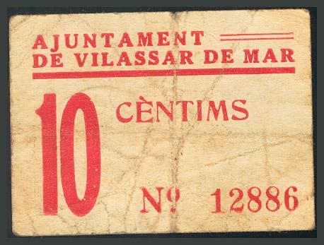311 - Billetes Guerra Civil