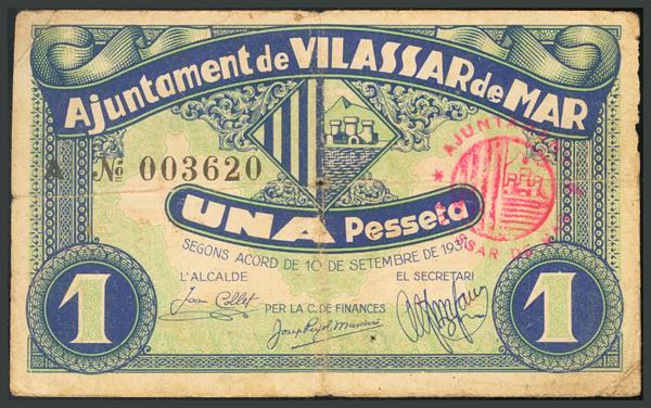 312 - Billetes Guerra Civil