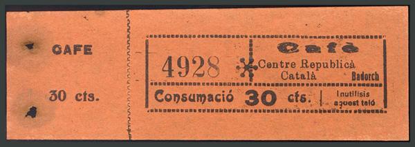 315 - Billetes Guerra Civil