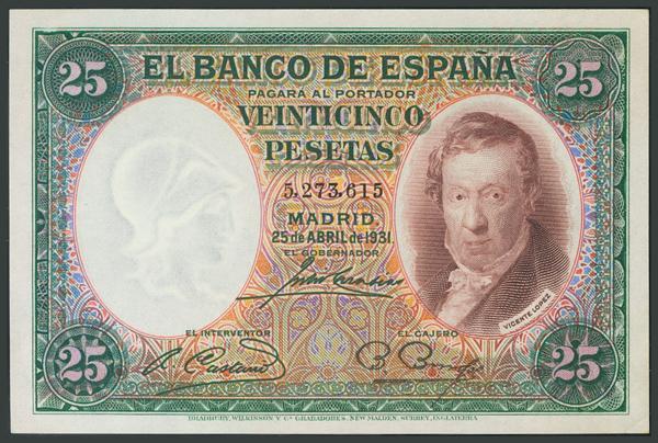 44 - Billetes Españoles