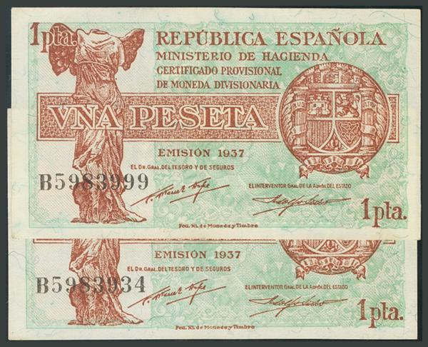 62 - Billetes Españoles