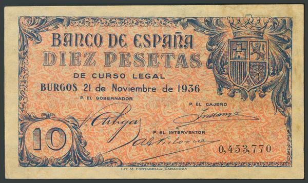 71 - Billetes Españoles