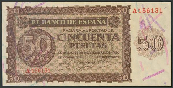 74 - Billetes Españoles