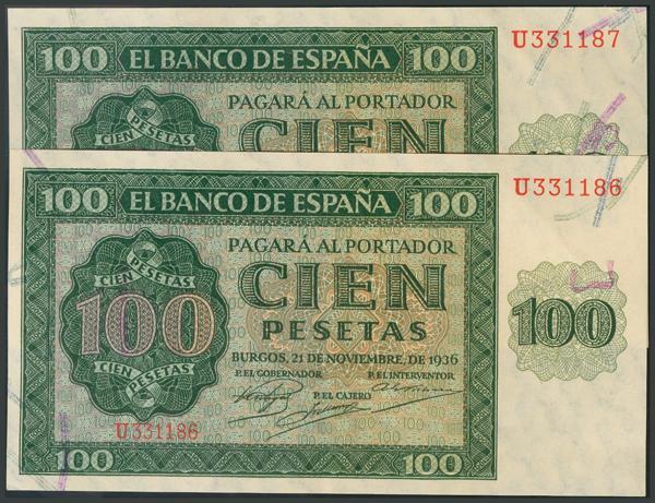 77 - Billetes Españoles